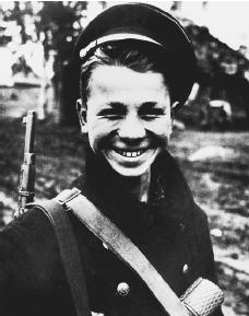 Thirteen year old Russian partisan. (Reproduced by permission of AP/Wide World Photos)