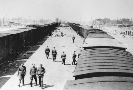 Transport to a death camp. (Reproduced by permission of the United States Holocaust Memorial Museum)