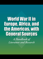 World War II in Europe, Africa, and the Americas, with General Sources, ed. , v.