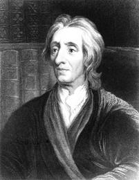 Portrait of Philosopher John Locke