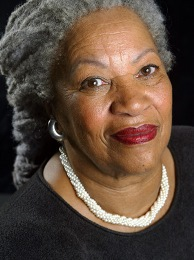 Toni Morrison Poses for Book Portrait in New York, 2002
