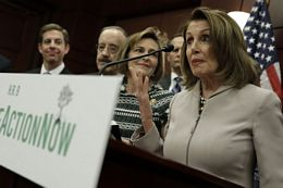 House Democrats Hold A News Conference To Introduce The Climate Action Now Act