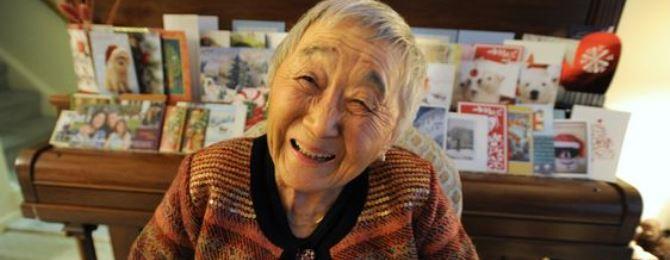 Japanese Canadian Centenarian