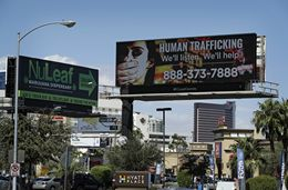 FBI and Billboard Company Join Forces to Help Combat Human Trafficking in Nevada