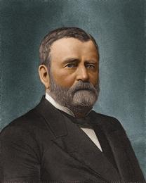 U.S. President Ulysses S. Grant (1822-1885)