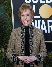 Carol Burnett Attends Golden Globe Awards