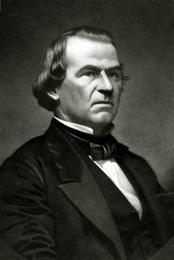 U.S. President Andrew Johnson (1808-1875)