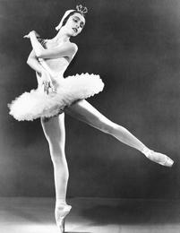 Maria Tallchief performing