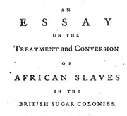 Document Preview Image for An essay on the treatment and conversion of African slaves in the British sugar colonies