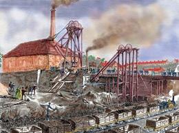 Coal-mining Operation in Nineteenth Century England