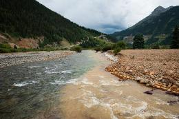 River Water in Colorado Polluted with Mining Wastewater