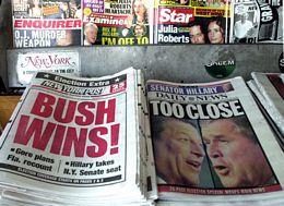 Bush v. Gore Election Headlines