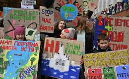 School Strike for Climate in Ukraine