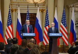 Trump and Putin Give a Press Conference in Helsinki