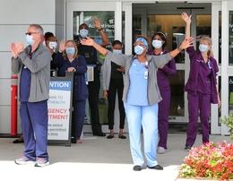 Coronavirus - health-care worker appreciation