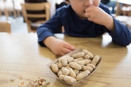 Allergies - kid with peanuts