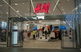 The H&M store in the Westfield Mall in Lower Manhattan