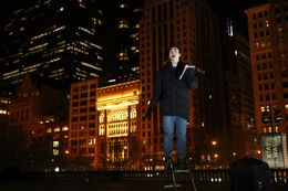 In Chicago's Millennium Park, Wheaton College Students Exercise Right to Free Speech by Preaching ...