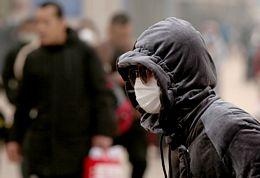 Chinese wear protective masks in Beijing, China due to coronavirus