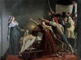<pres:italics>The Assassination of Marat</pres:italics>