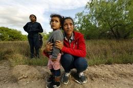 Immigrants at the U.S. - Mexico Border