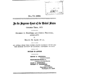 Document Preview Image for Frontiero v. Richardson, 411 U.S. 677 (1973). Motion