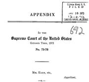 Document Preview Image for Kahn v. Shevin, 416 U.S. 351 (1974). Appendix