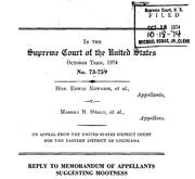 Document Preview Image for Edwards (Edwin) v. Healy (Marsha), 415 U.S. 911 (1974). Memorandum