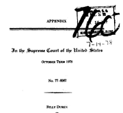 Document Preview Image for Billy Duren, Petitioner, v. State of Missouri, 439 U.S. 357 (1979). Appendix