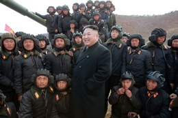 Kim Jong Un Attends the Korean People's Army Tank Crews' Competition