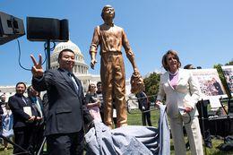 Tank Man' Statue Unveiled in Washington, D.C.