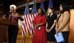US House Representative Ilhan Omar of Minnesota Makes Remarks