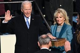 Joe Biden Sworn in as President of the US