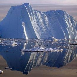 The Jacobshavn Glacier