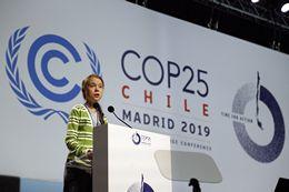 Greta Thunberg Speaks at COP25 in Madrid