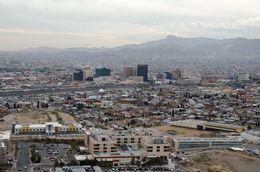 View Of El Paso And Juarez