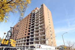 Last Of The High-Rise Housing Projects Buildings Is Demolished in St. Louis
