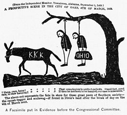 An Alabama newspaper published this cartoon in 1869, warning