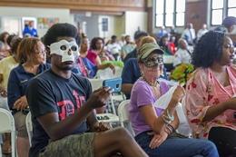 People Protest Police Department Facial Recognition Surveillance Program